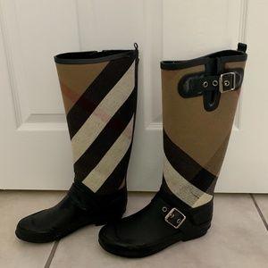 Burberry Birback Rainboots